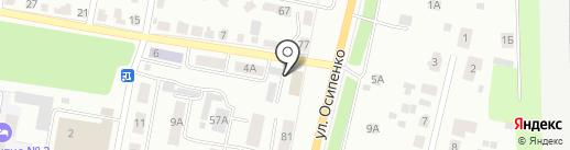 Проектно-сметное бюро на карте Саранска