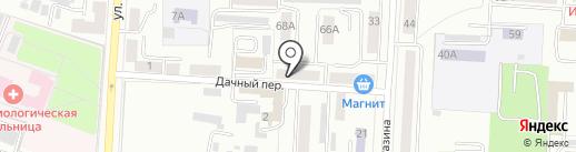 Автомир на карте Саранска