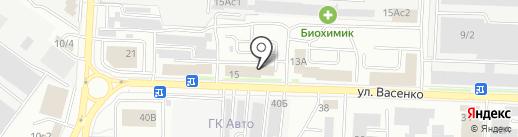 Daewoo Enertec на карте Саранска