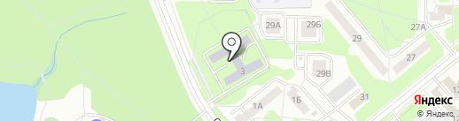 Средняя общеобразовательная школа №226 на карте Заречного