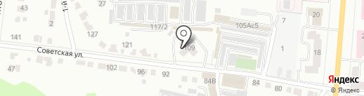 Центр специализированной охраны и техники на карте Саранска