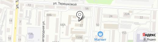 Управление МВД России по городскому округу Саранск на карте Саранска