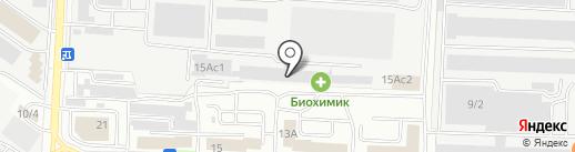 Биохимик, ПАО на карте Саранска