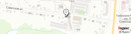 Лонг Кэт на карте Саранска