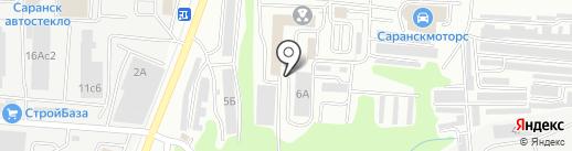 Компания Дорожные Системы на карте Саранска