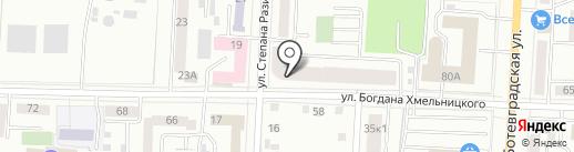 Наколочная на карте Саранска