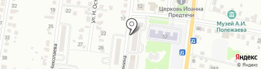ВСК, ОСАО на карте Саранска
