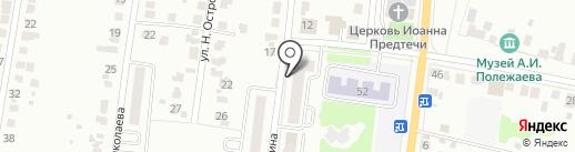 ВВК на карте Саранска