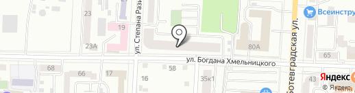 NOVA-я на карте Саранска