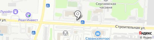 Кабельный дом на карте Саранска