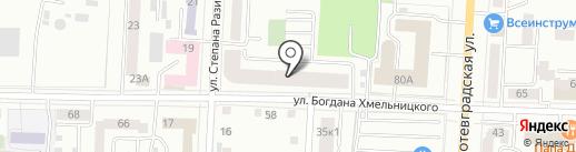 Время Страхования на карте Саранска