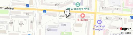 МамаБэль на карте Саранска