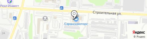 Саранскмоторс на карте Саранска