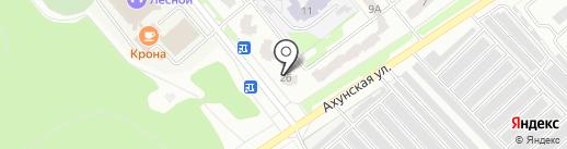 Тиида-58 на карте Заречного