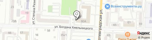 Управление ФСБ РФ по Республике Мордовия на карте Саранска