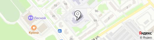 Средняя общеобразовательная школа №218 на карте Заречного