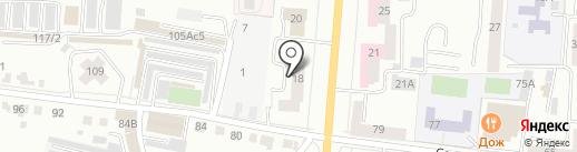 Мордовское книжное издательство на карте Саранска