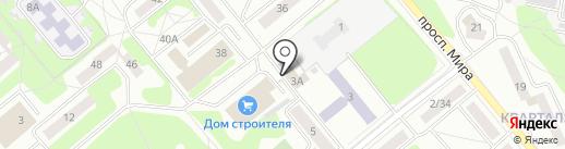 Магазин военных товаров на карте Заречного