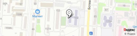 Средняя общеобразовательная школа №16 на карте Саранска