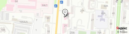 Республиканский врачебно-физкультурный диспансер на карте Саранска