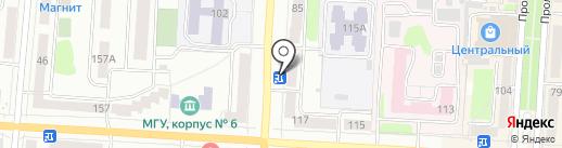 Доверие на карте Саранска