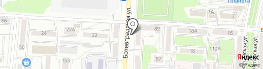 Библиотека №2 на карте Саранска