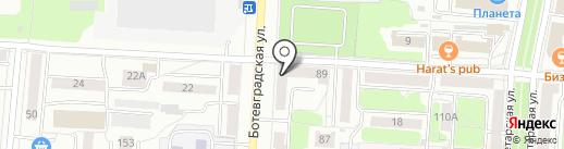 Красное & Белое на карте Саранска