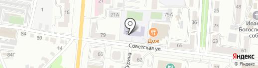 Гимназия №20 на карте Саранска