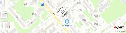 Фонд Жилья и Ипотеки г. Заречного на карте Заречного