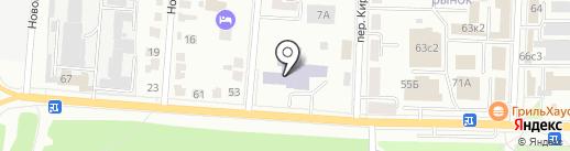 Мордовпотребсоюз на карте Саранска