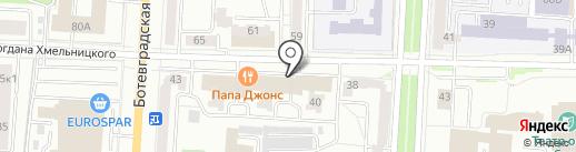 Dia Cтом на карте Саранска