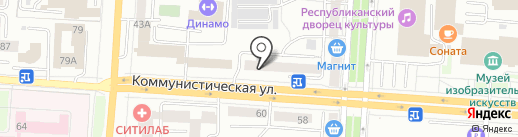 Твой Эдем на карте Саранска