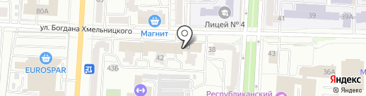 Восьмое чудо света на карте Саранска