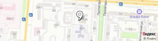 Тонус-Экстра на карте Саранска