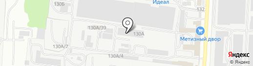 Газмаркет на карте Саранска
