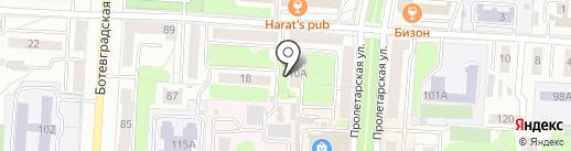Мобильная химчистка на карте Саранска