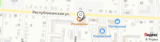 СИМ на карте Саранска