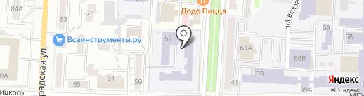Управление образования на карте Саранска