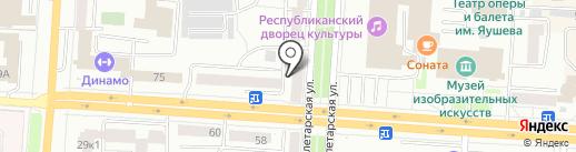 Vseinet.ru на карте Саранска