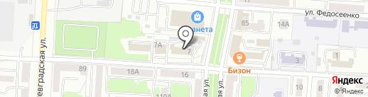 Салют на карте Саранска