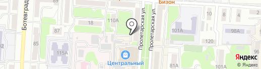 Центр Джинс на карте Саранска