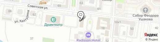 Администрация Ленинского района на карте Саранска