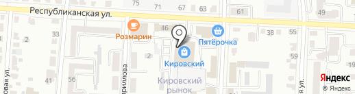 Лента на карте Саранска