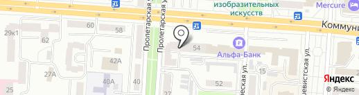 Терминал на карте Саранска