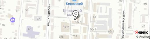 Чамзинские продукты на карте Саранска
