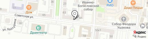 Bar Baris на карте Саранска
