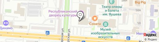 Межрегиональное Объединение Строителей (СРО) на карте Саранска