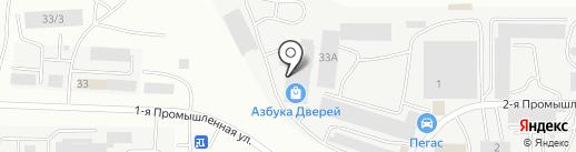 Магазин-салон на карте Саранска