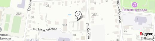 Строительно-монтажное управление-33 на карте Саранска