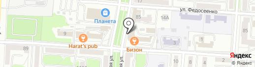 Лика на карте Саранска